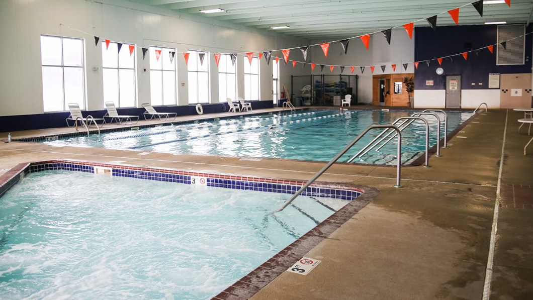 indoor swimming pool in St Cloud & Sartell, MN